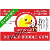 E-Liquide Donald Bubble Gum 12 mg Inawera