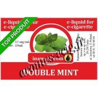 E-Liquide Double Menthe 12 mg Inawera