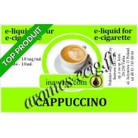 E-Liquide Cappuccino 18 mg Inawera