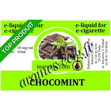 E-Liquide Chocomint 18 mg Inawera