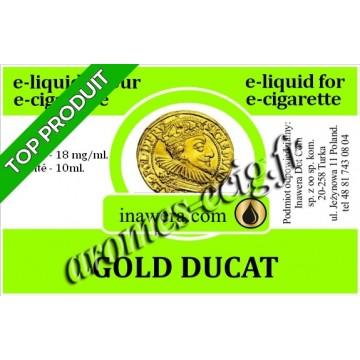 E-Liquide Gold Ducat 18 mg Inawera