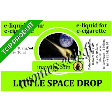 E-Liquide Little Space Drop 18 mg Inawera