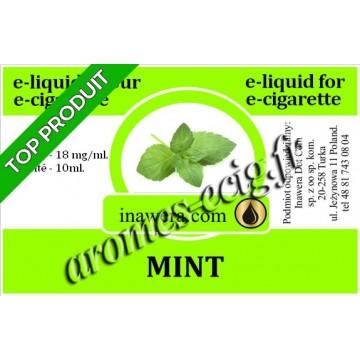 E-Liquide Menthe 18 mg Inawera