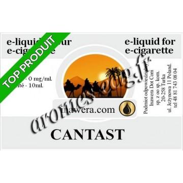 E-Liquide Cantast 0 mg Inawera