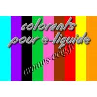 Colorants pour e-liquide