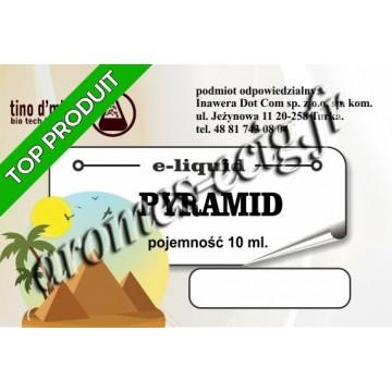 E-Liquide Pyramide 6 mg Tino D'Milano