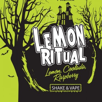 E-liquide Pré-Mixé Lemon Ritual Inawera