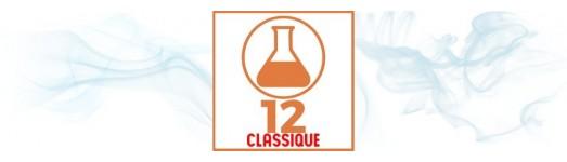 E-liquides premium TDM classique 12 mg ( moyen )