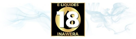 E-liquides Inawera 18 mg ( fort )