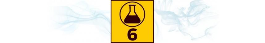 E-liquides TDM 6 mg