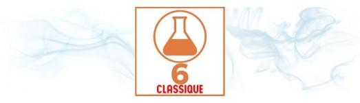 E-liquides premium TDM classique 6 mg ( léger )