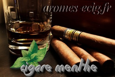 Arome Cigare Menthe Classique Inawera