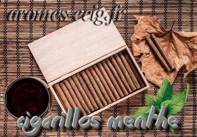 Arome Cigarillos Menthe Classique Inawera