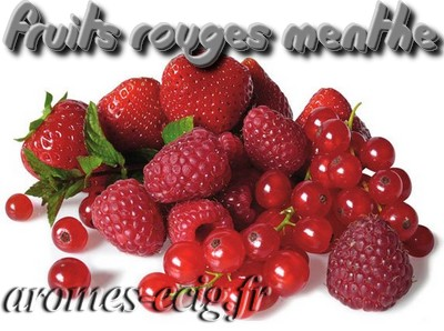 Arome Fruits Rouges Menthe Inawera DIY e-liquide