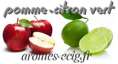 Arome Pomme Citron vert Inawera