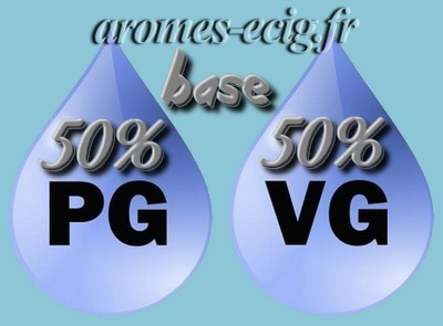 Base 50% PG 50% VG 12 mg Inawera DIY e-liquide