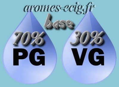 Base 70% PG 30% VG 12 mg Inawera DIY e-liquide