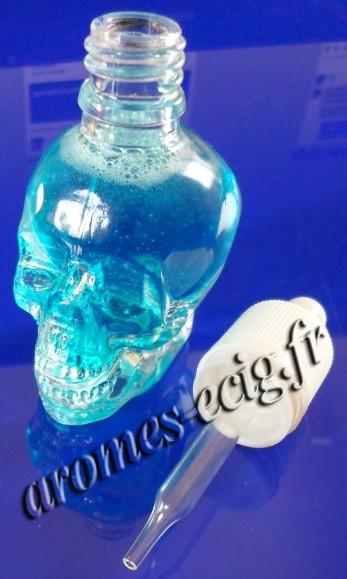 Flacon en verre 30 ml crane pour DIY e-liquide