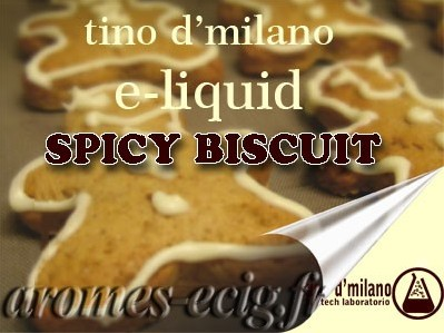 E-liquide Spicy Biscuit 6 mg Tino D'Milano