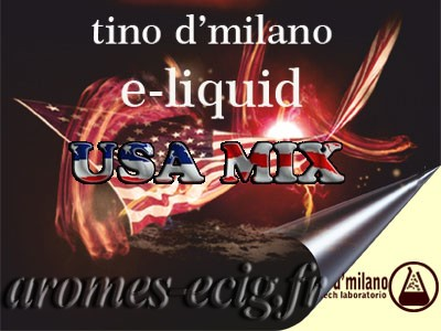 E-liquide US Mix 0 mg Tino D'Milano